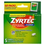 Zyrtec 24 Hour Allergy Tablets