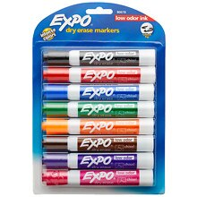 Expo Dry Erase Markers Chisel Tip