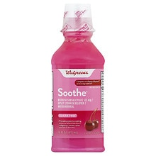 Walgreens Soothe Upset Stomach Reliever, Sugar Free Cherry