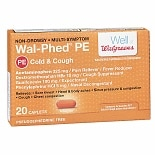 Wal-Phed PE Cough & Cold Caplets