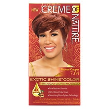 Nourishing Permanent Hair Color Kit, Bronze Copper