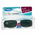 Solar Shield Fits Over Metal Polarized 52 Rec 15 Clip On Sunglasses Black