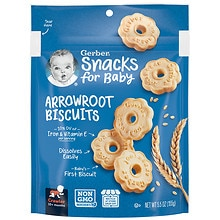 Arrowroot Cookies Pouch, Arrowroot
