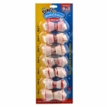 Dingo Dental Bone Mini Rawhide Dental Dog Chews 7 Pack