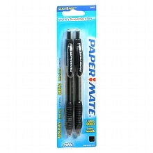 Paper Mate Profile Retractable Ball Point Pens 1.4 mm Black Ink