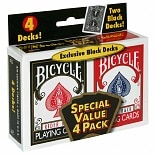 Bicycle Standard Playing Card Decks 2 Pack