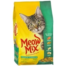 Meow Mix Dry Cat Food Salmon
