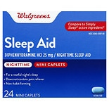 Walgreens Nighttime Sleep Aid Mini-Caplets Mini-Caplets