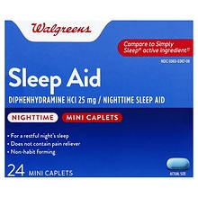 Nighttime Sleep Aid Mini-Caplets