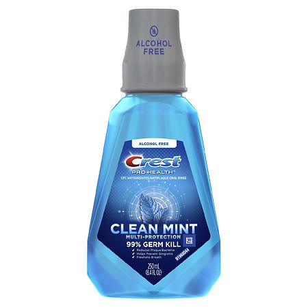 Crest Pro-Health Multi-Protection CPC Antigingivitis/Antiplaque Oral Rinse Clean Mint