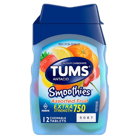 Tums Smoothies Assorted Fruit