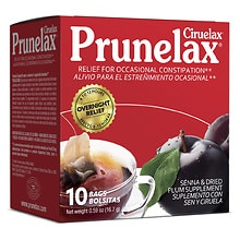 Ciruelax Laxative Dietary Supplement Tea Bags 10 Pack