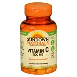 Sundown Naturals Vitamin C 500mg Tablets