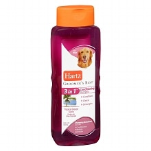 Hartz Groomer's Best 3 in 1 Conditioning Shampoo for Dogs