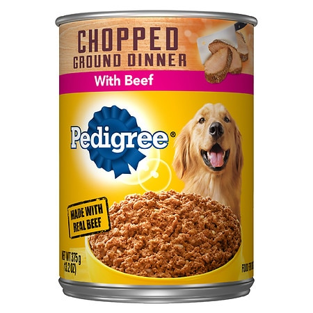 Pedigree Meaty Ground Dinner Canned Dog Food