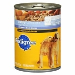 Pedigree Meaty Ground Dinner Food For Puppies Chicken & Beef