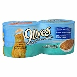 9 Lives Daily Essentials Canned Cat Food 4 Pack