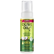 Organic Root Stimulator Olive Oil Wrap/Set Mousse