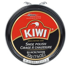 Black Shoe Polish, Black