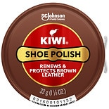 Kiwi Brown Shoe Polish Brown