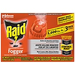 Raid Concentrated Deep Reach Fogger Pest Control Spray 3 Pack