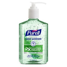 Purell Advanced Hand Sanitizer, Pump Aloe