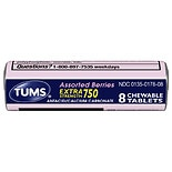 Tums Ex Assorted Berries 8ct Single Roll