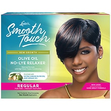 Luster's Pink Smooth Touch Extra Virgin Olive Oil No-Lye Relaxer System