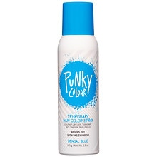 B Wild Temp'ry Hair Color Spray, Bengal Blue