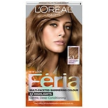L'Oreal Feria Permanent Haircolour Gel Sparkling Amber (Light Golden Brown - Warmer)