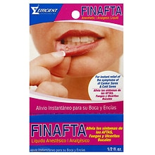 Finafta Anesthetic/Analgesic Liquid