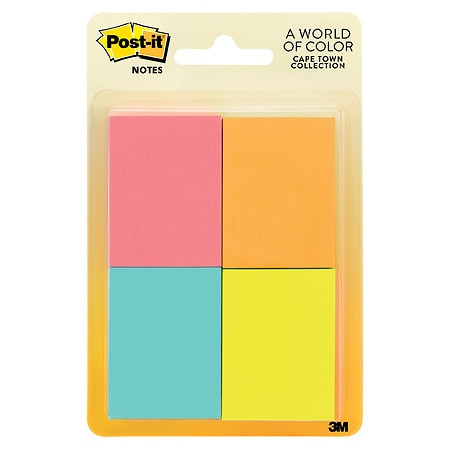 Post-it Note Pads 1-3/8 inch x 1-7/8 inch