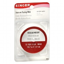 Singer Iron-On Fusing Web Regular Weight
