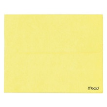 Mead Brite Wallets Letter Size Expansion File Envelope Assorted Colors