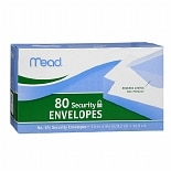 Mead No. 6-3/4 Security Envelopes