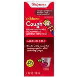 Walgreens Children's Cough Liquid Cherry