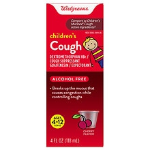 Children's Cough Suppressant Cherry, Cherry