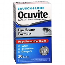 Ocuvite Eye Health Formula Soft Gels