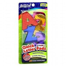 ArtSkills Quick Letter & Number Pads Set Assorted Colors