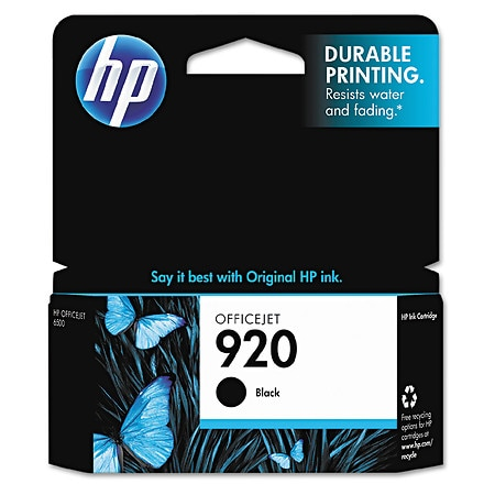 HP Officejet Ink Cartridge 920 Black