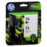 Hewlett Packard Ink Cartridge Combo Pack 74/75