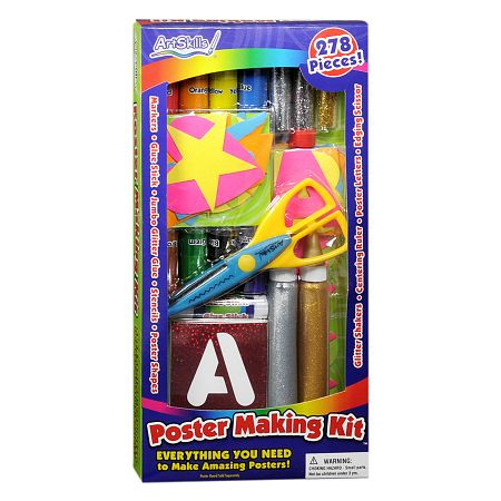ArtSkills 278 Piece Poster Making Kit