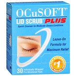 Ocusoft Lid Scrub Plus, Individually Wrapped Pre-Moistened Pads