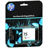 Hewlett Packard Ink Cartridge 75 Tri-Color