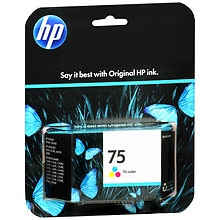 HP Ink Cartridge 75