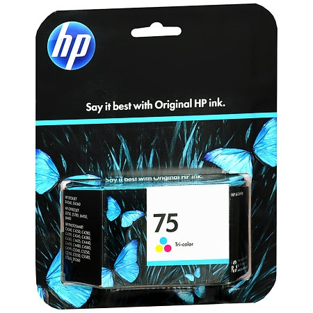 HP Ink Cartridge 75 Tri-Color