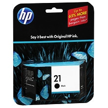 Hewlett Packard Ink Cartridge 21