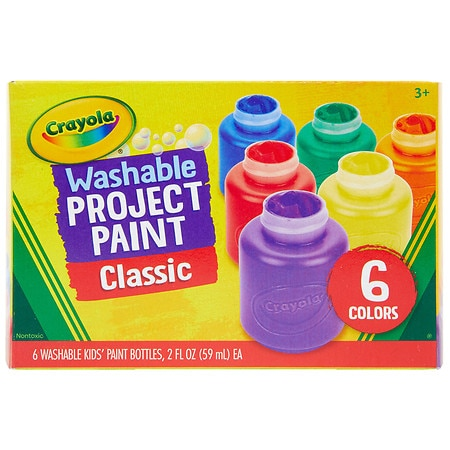 Crayola Washable Kids' Paint 6 Pack