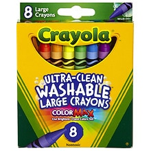 Crayola Washable Crayons Large