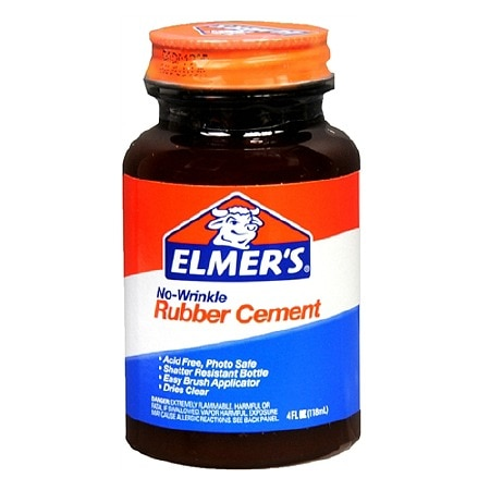 Elmer's No-Wrinkle Rubber Cement